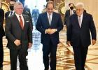 قمة بين الاردن ومصر وفلسطين