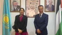 خلال استقبال السفير ابو زيد لسفيرة الهند