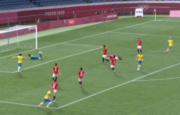 هدف منتخب البرازيل